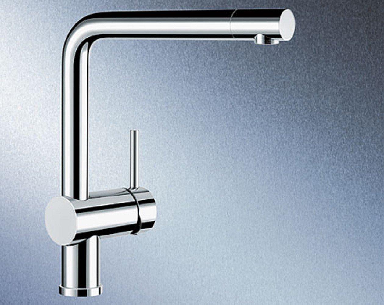 Blanco Linus Chrom Einhebelmischer Niederdruck KüchenArmatur Wasserhahn Spüle  BaumarktKundenbewertung und Beschreibung