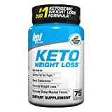 Keto Weight Loss Is A Ketogenic Fat Burner - Formulated for the Keto Diet To Burn Fat, Maintain Ketosis, Enhance Mental Focus & Clarity – BHB's, MCT and More – 75 Easy to Swallow Capsules (Tamaño: 75 Count)