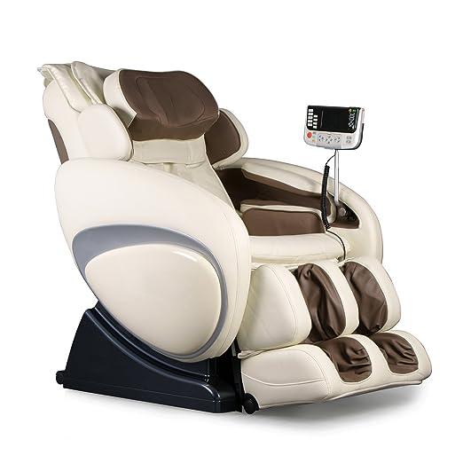 Zero Gravity Heated Reclining Massage Chair Upholstery