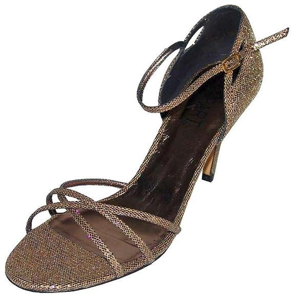 Apart sandales à talons hauts or