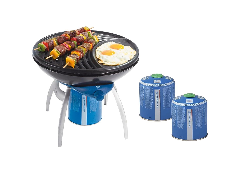 Party Grill + 2x Kartuschen CV 470 Plus *SPARSET* günstig