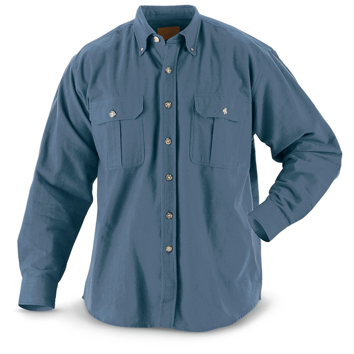 Blue chamois shirt by Wildlife