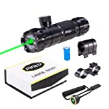 Pinty Hunting Rifle Green Laser Sight Dot Scope < 5mw Adjustable with Mounts