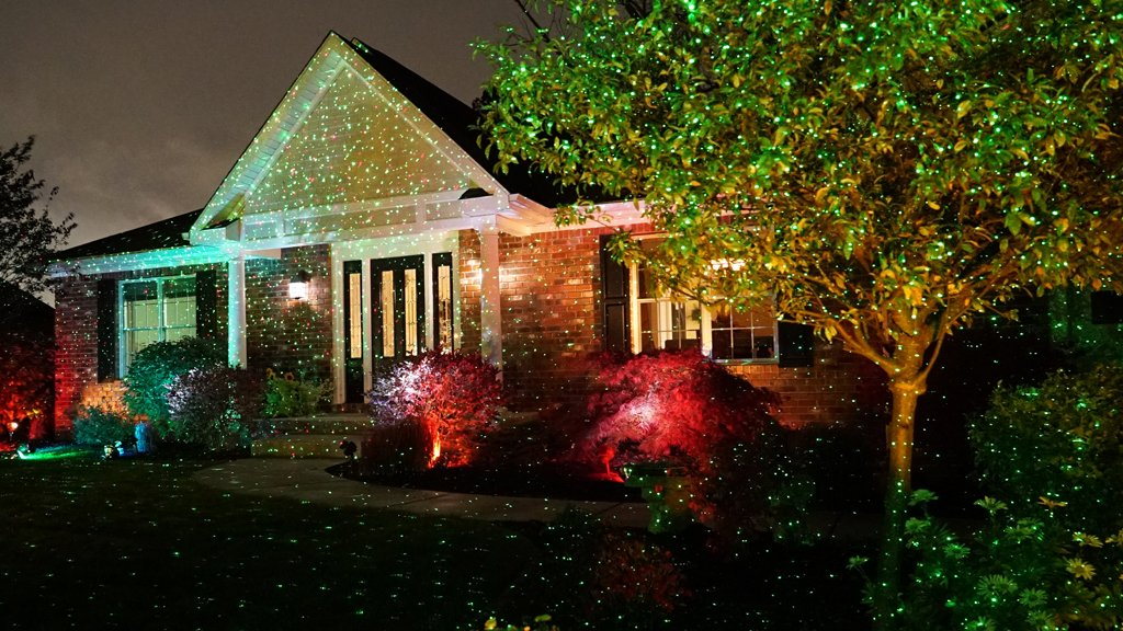 Amazon.com - Star Shower Outdoor Laser Christmas Lights, Star ...