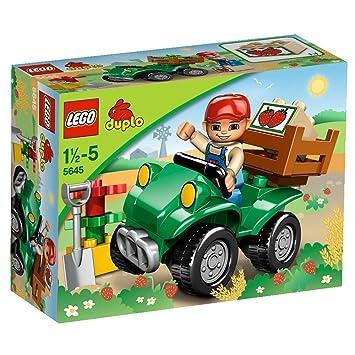 LEGO - 5645 - Jeu de Construction - DUPLO LEGOVille - Le Quad de la Ferme