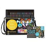 Chameleon Marker 30 Pen Set w/Mini Mandalas Color Cards (Color: Mini Mandalas)