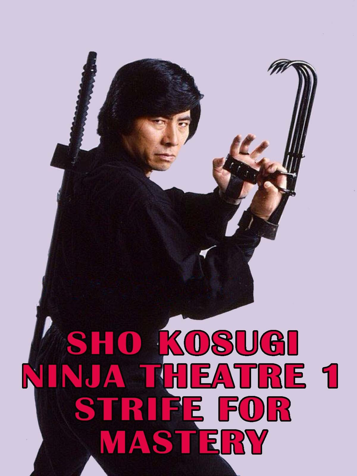 Sho Kosugi Ninja Theater 1 Strife For Mastery