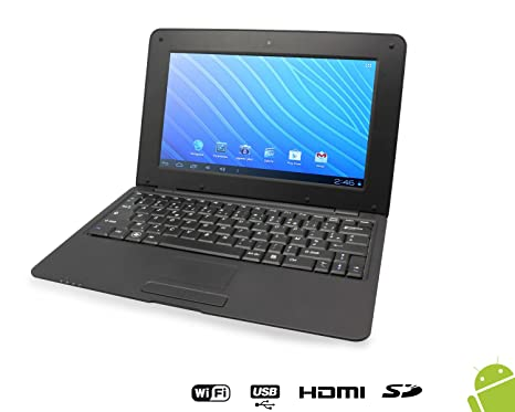 Netbook Syndro Digital 13'' ANDROID 4.1 8 Go BLACK