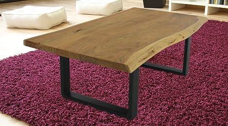 Pune Couchtisch / Wohnzimmertisch 115x65 cm Tisch / Holztisch aus Akazie / Beistelltisch