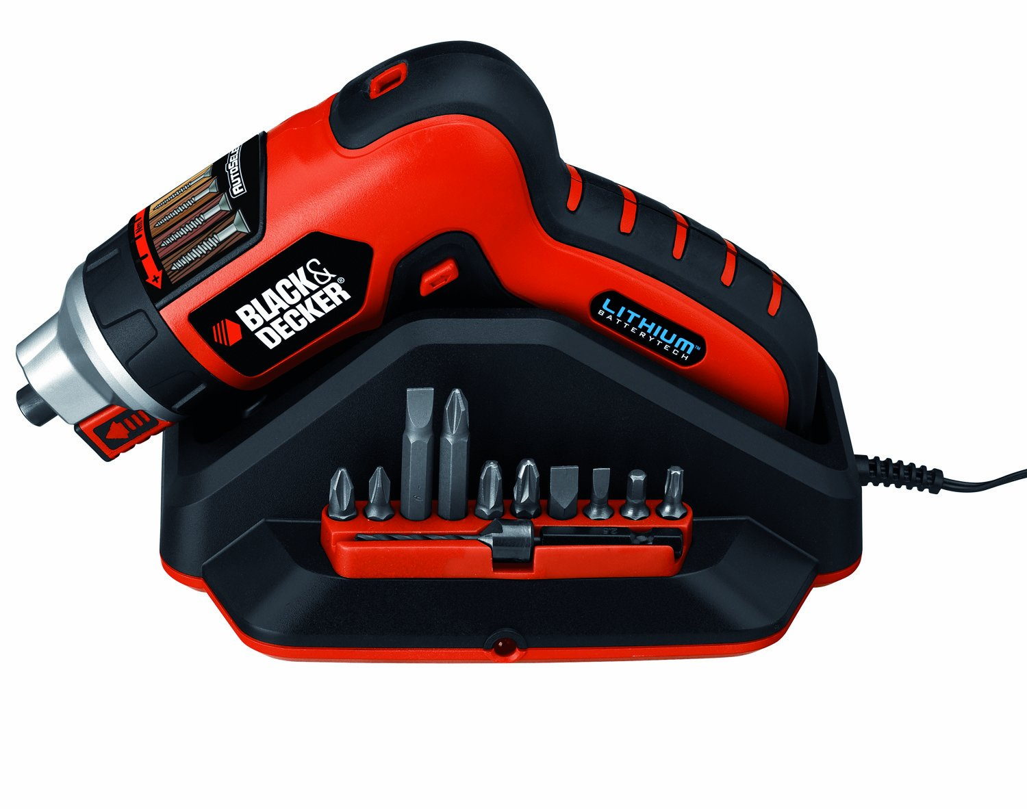Destornillador eléctrico Black and Decker AS36LN-QW