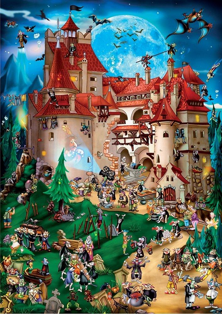Amazon.com: D-Toys Building the Burj Al Arab Jigsaw Puzzle, 1000 ...