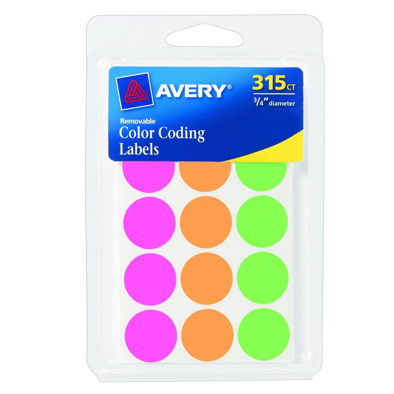 Color Coding Labels Color Coding Labels 0.75
