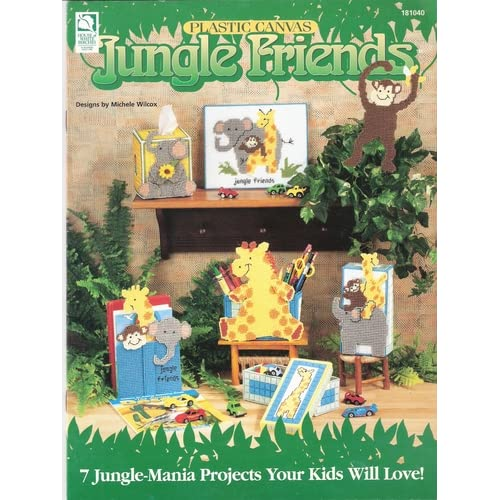 Plastic Canvas Jungle Friends (House of White Birches