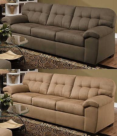 Simmons Upholstery 9558 Velocity Sofa Shitake