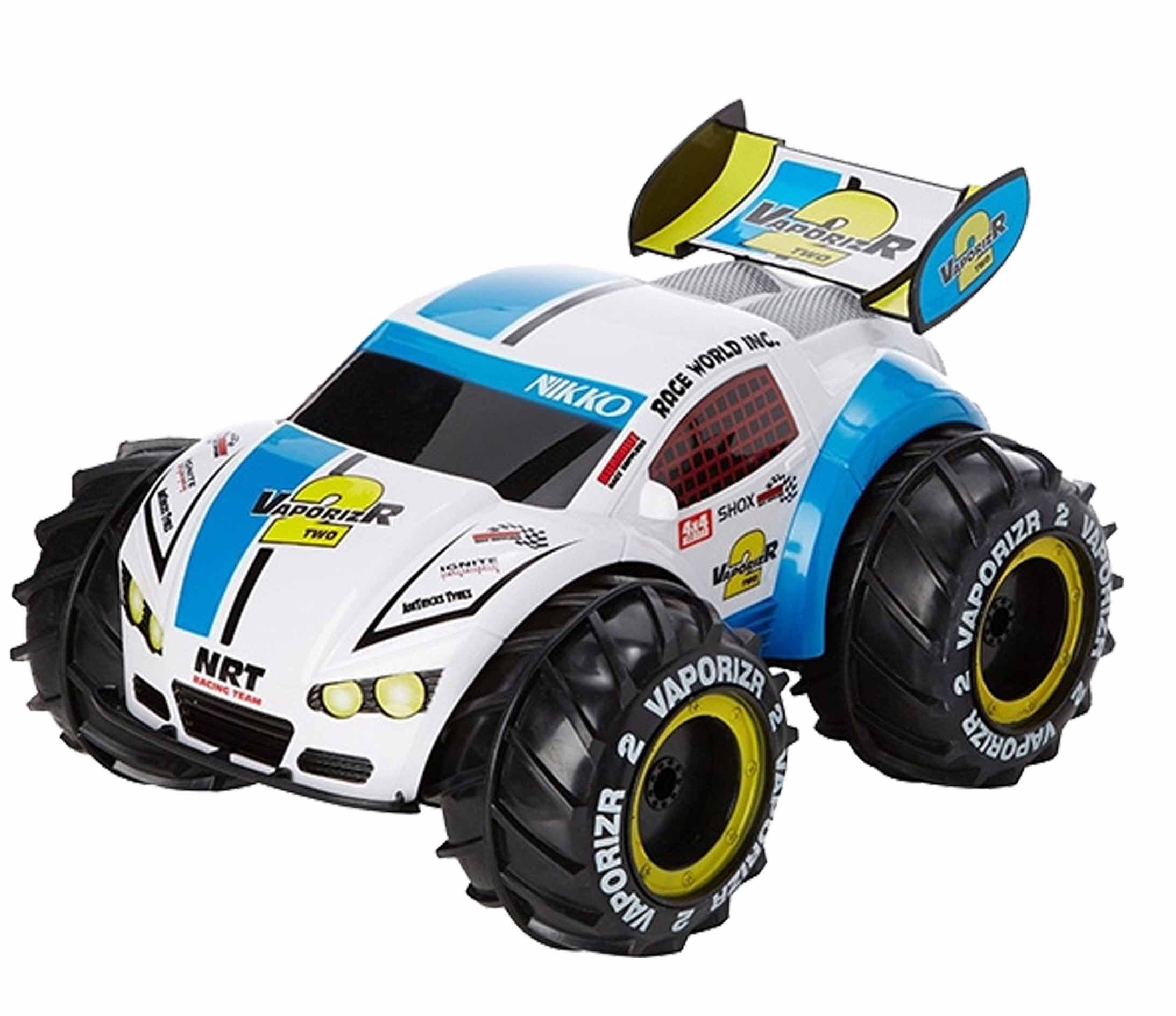 nikko rc vaporizr 2 car blue blue