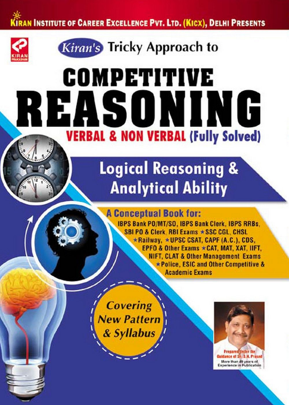 buy k s tricky approach to competitive reasoning verbal non buy k s tricky approach to competitive reasoning verbal non verbal fully solved 7000 objective question logical reasoning analytical ability