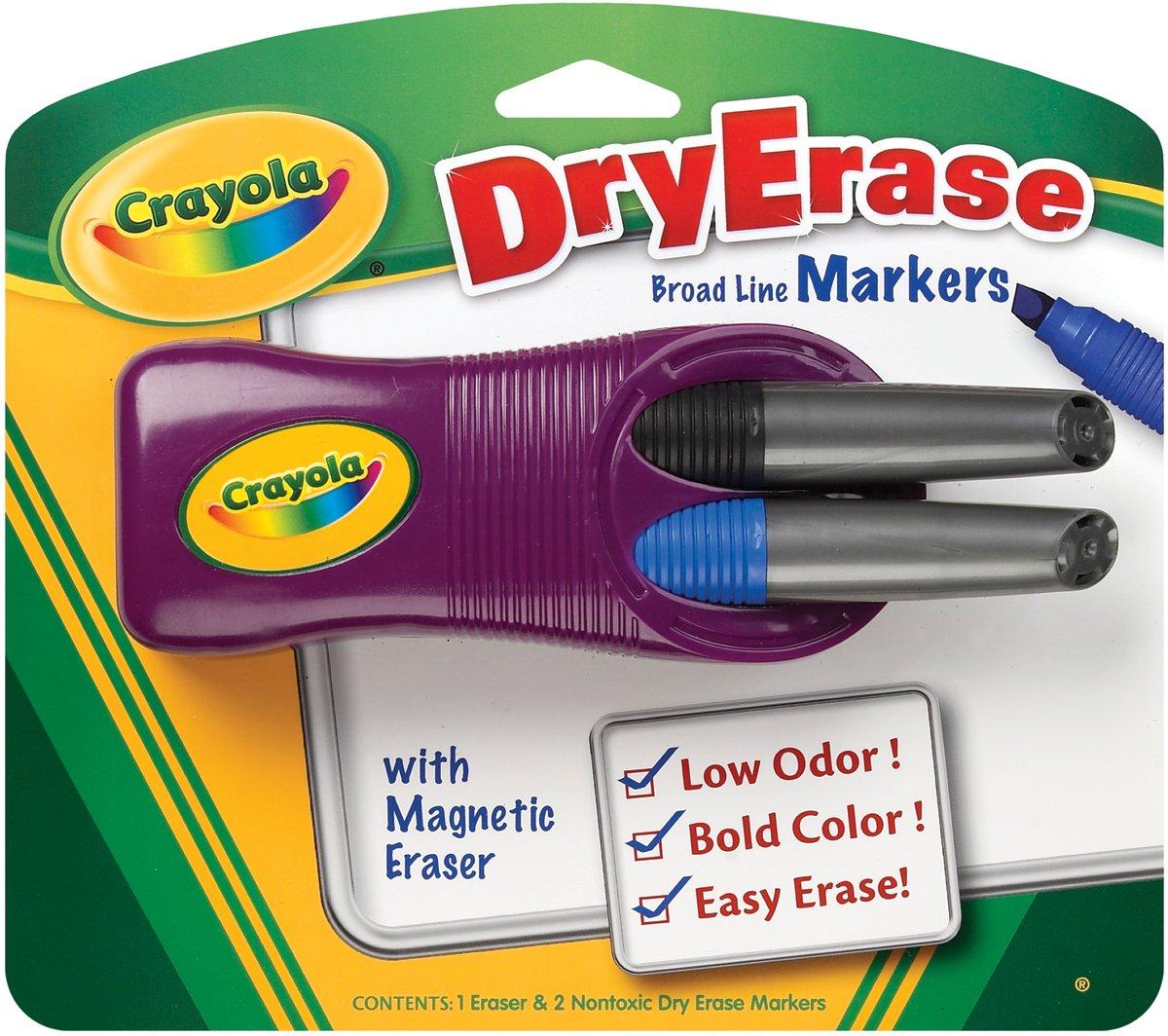Crayola Dry Erase Markers Black Crayola Dry-erase Magnetic