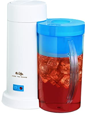 Mr. Coffee 2-Quart Iced Tea Maker for Loose or Bagged Tea Via Amazon