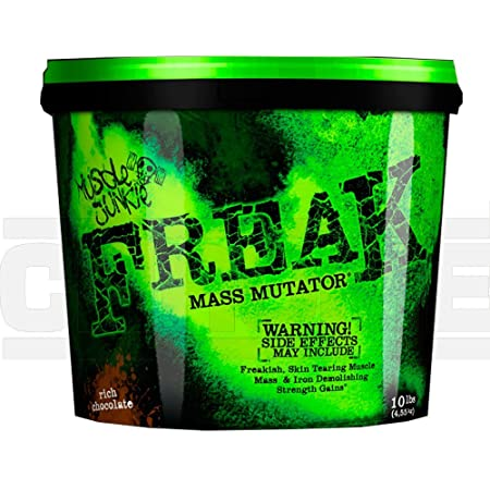 Musclejunkie Freak Mass Mutation Heavy Gainer mit ALA-Rich Chocolate