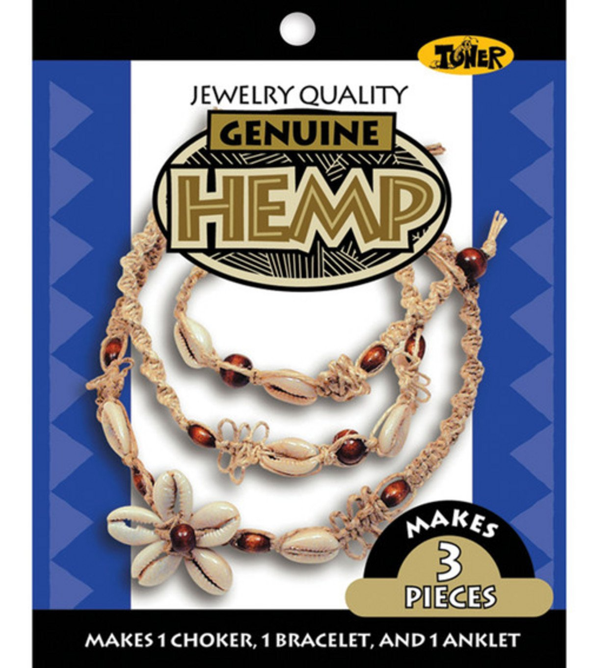 Toner Hemp Jewelry Kit