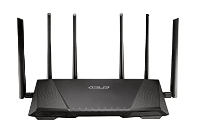 Asus RT-AC3200 Router WIFI AC3200 Triple Bande, Trend Micro Protection- Prise EU