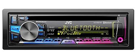 JVC KD-R961BTE Autoradios Bluetooth, En Façade