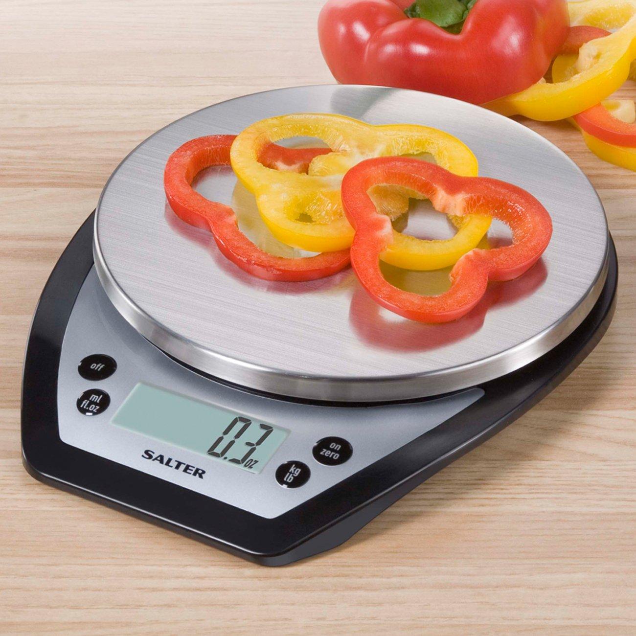 Salter 1020BKSS Aquatronic Digital Kitchen Scale 1020BKSS