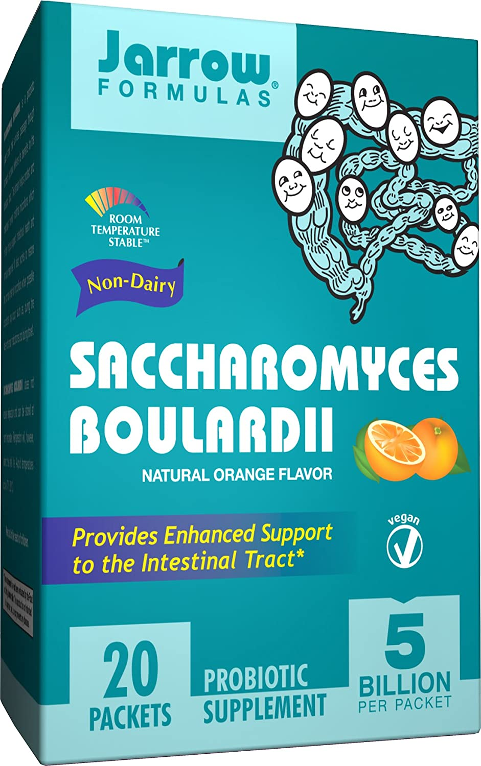 все цены на Saccharomyces Boulardii, 5 Billion Organisms Per Packet,  20 Count (Cool Ship, Pack of 3) онлайн