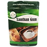Judee's Xanthan Gum Gluten Free(8 oz) - USA Packaged & Filled - Dedicated Gluten & Nut Free Facility - Perfect for Low Carb Keto Cooking & Thickening Sauces, Gravies, and Smoothies. Non-GMO (Color: One Color, Tamaño: 1 Pack)