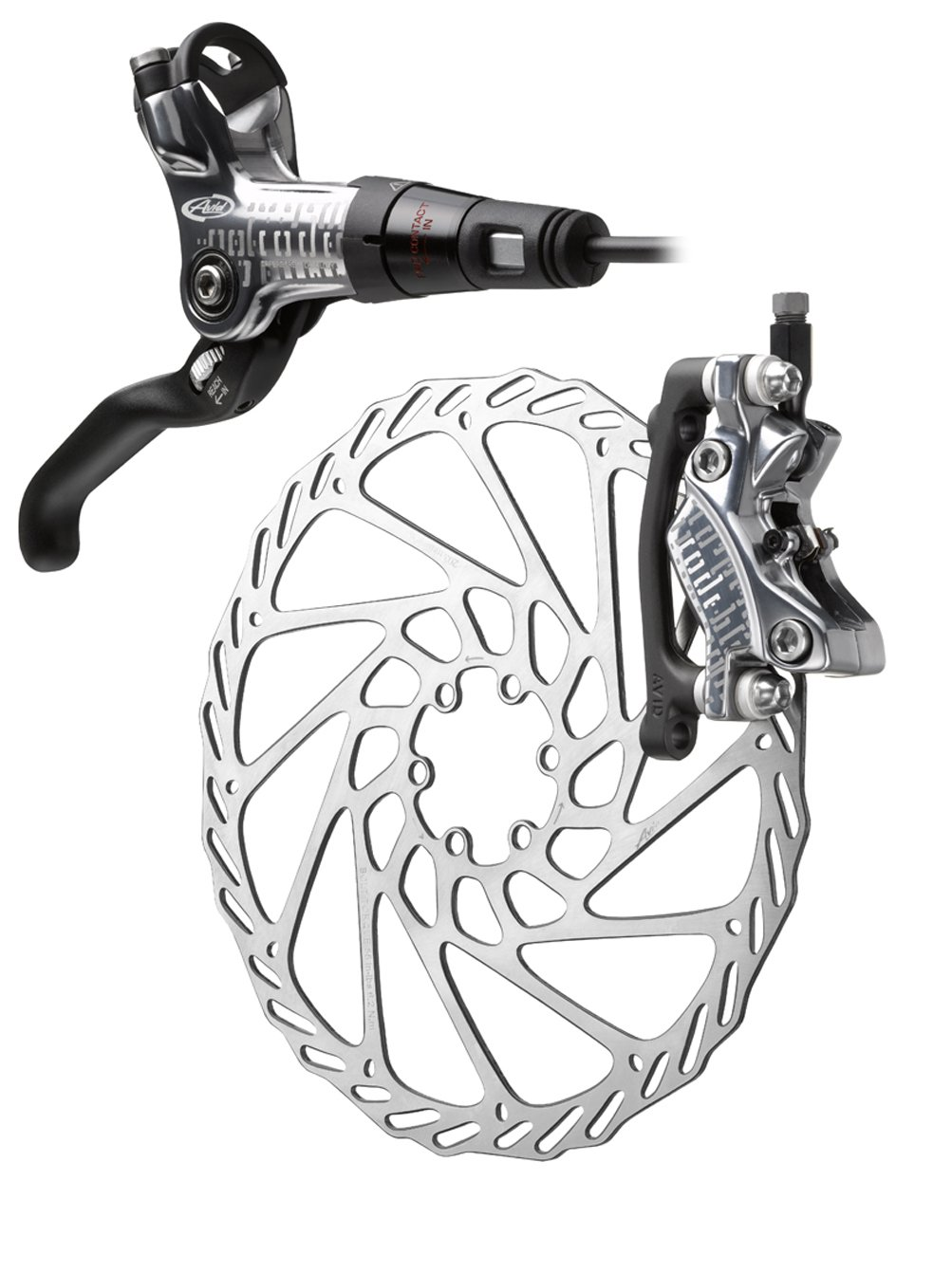 Avid Code Silver 185mm '11 Disc Brake (Right/Rear)