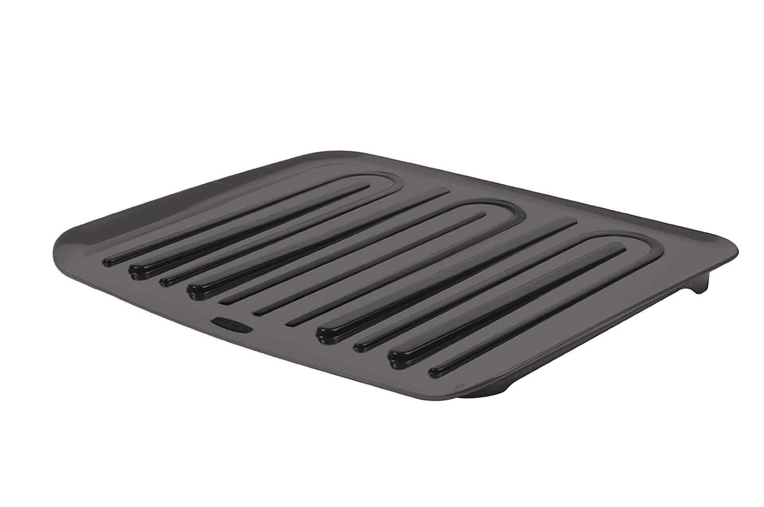 new rubbermaid antimicrobial drain board large black ebay. Black Bedroom Furniture Sets. Home Design Ideas