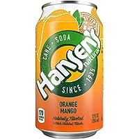 24-Pack Hansen's Natural Cane Soda (Orange Mango)