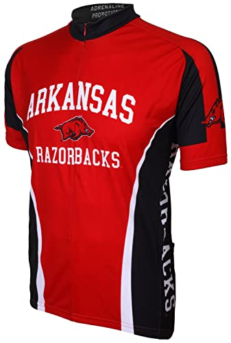 arkansas razorbacks cycling jersey