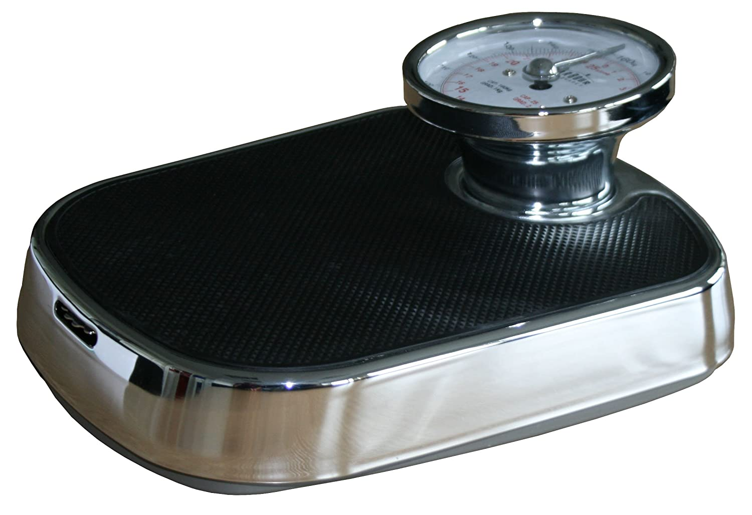 Harbour Housewares Traditional Chrome Bathroom Scales