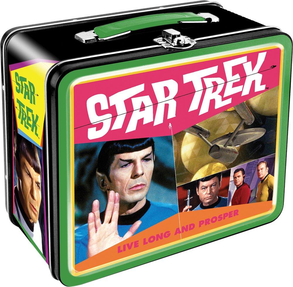 Aquarius Star Trek Retro Large Tin Fun Box 1