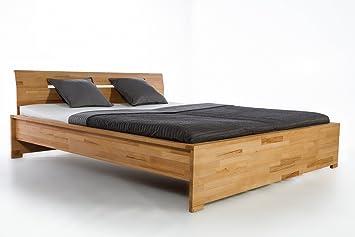 De madera maciza de cama de madera de haya de cama doble de cama de madera maciza de Florencia Kerbuche caja de envío inmediato 140 160 180 200 x 200, madera, buche, 200  x200