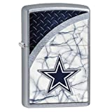 Zippo NFL Dallas Cowboys Street Chrome Pocket Lighter (Color: Dallas Cowboys)