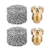 ANCIRS 2 Pack 1.1mm Foam Cannon Orifice Nozzle Tips, Foam Maker Universal Accessories for Snow Foam Lance