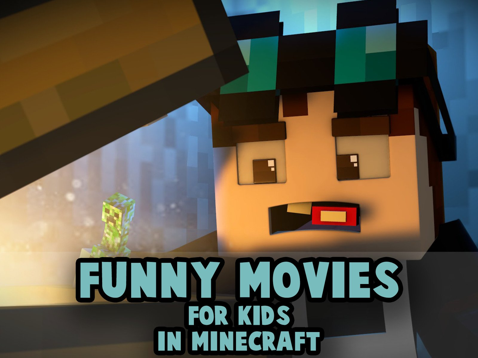 Clip: Funny Movies for Kids in Minecraft - Season 1