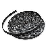 10 Meters 2GT Timing Belt 6mm Width for 3D Printer Drive Belt GT2 Belt 33 ft for RepRap Anet A8 CR-10 Mendel Rostock Prusa GT2-6mm Belt 3D Printer CNC (Color: 10M/33ft)