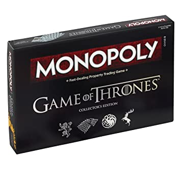 Game of Thrones Jeu Monopoly - Version Import