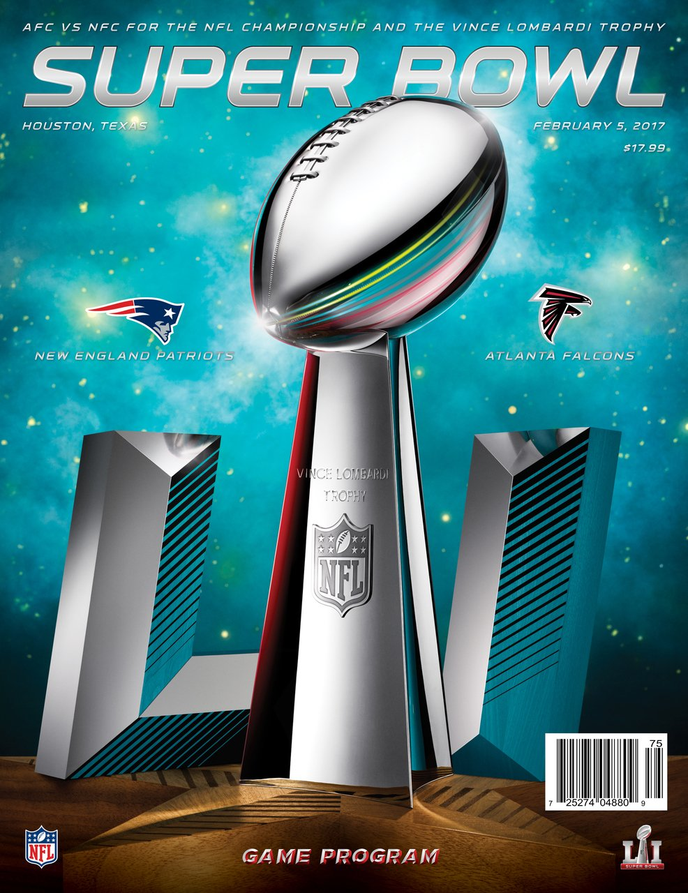 Super Bowl LI Game Program