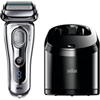 Braun Series 9 9095CC Wet & Dry Mens Electric Foil Shaver (Silver)