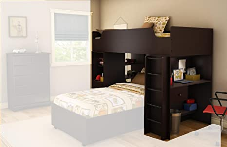 Logik Bedroom Set Dark Brown