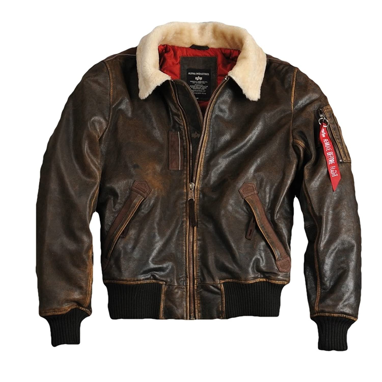 Alpha Industries Herren Injector III Leather jetzt kaufen
