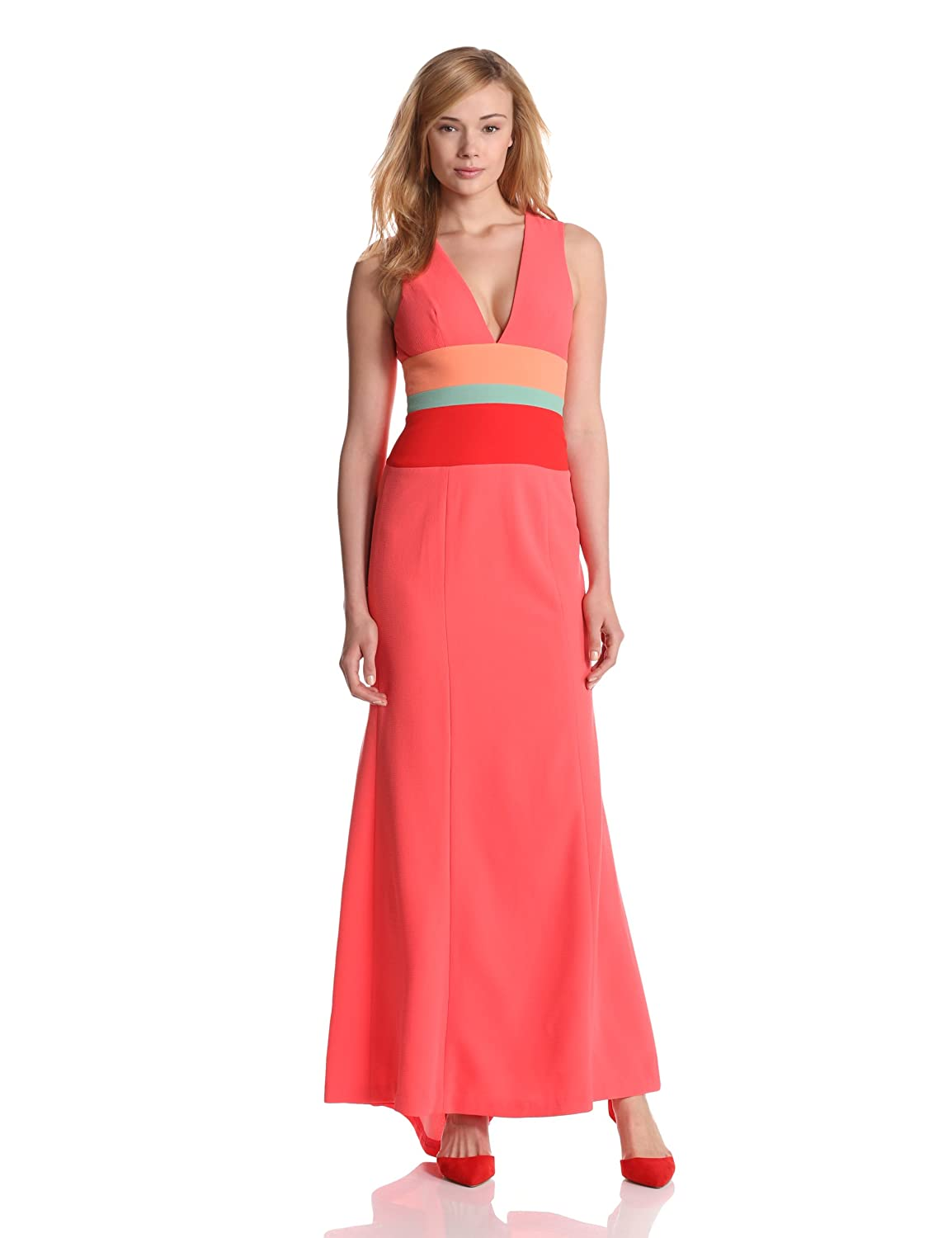 Lizette Woven Evening Gown