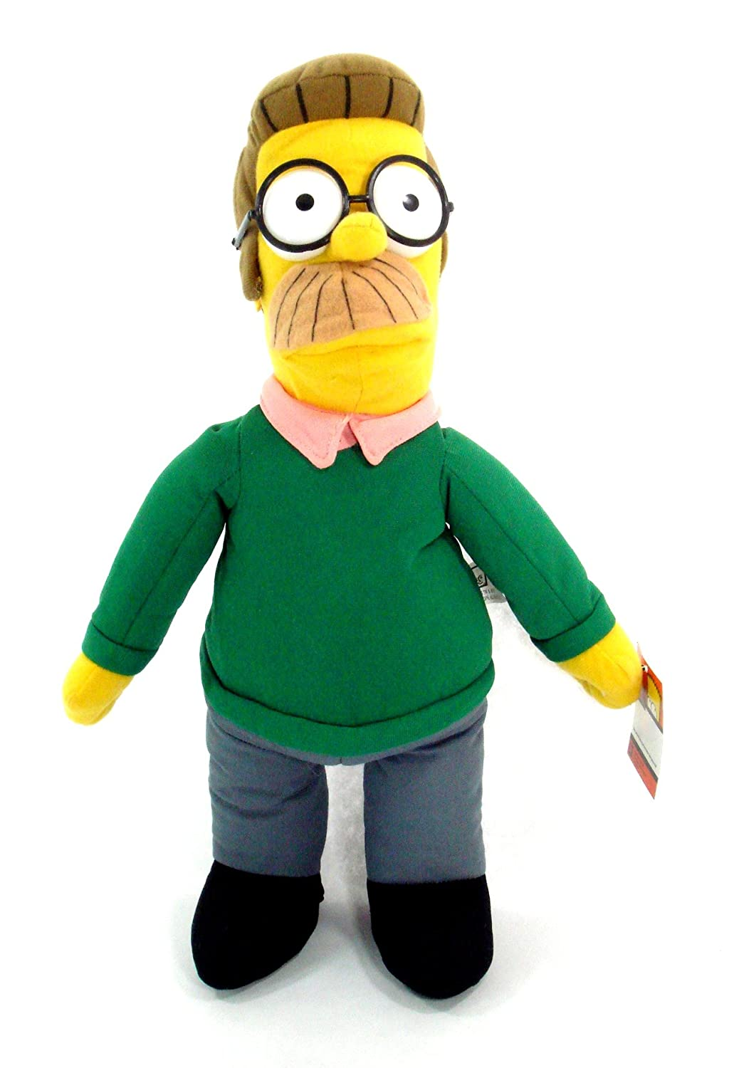 Simpsons 17 Inch Ned Flanders Plush Doll