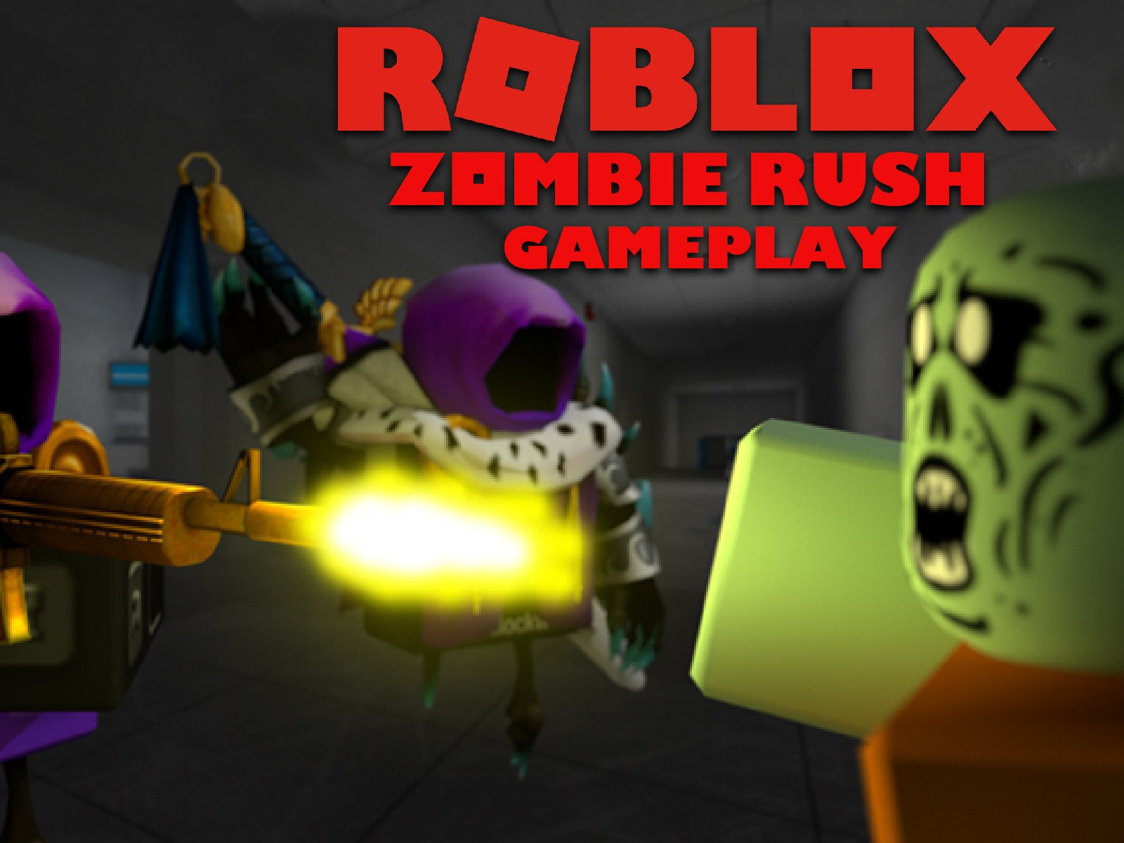 Clip: Roblox Zombie Rush Gameplay