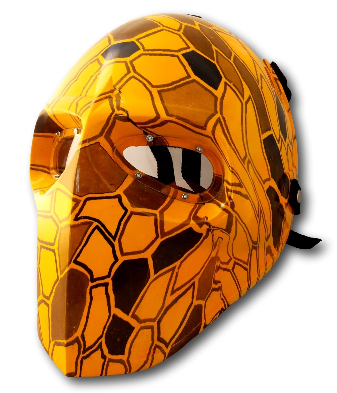 Invader King TM Yellow Dimention Camouflage Army of Two Airsoft Mask Protective Gear Outdoor Sport Fancy Party Ghost Masks Bb Gun protective outdoor war game military skull half face shield mask black