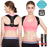 Posture Corrector for Women Back Corrector for Men Effective and Comfortable Adjustable Posture Corrector Belt Invisible Upper Clavicle Straightener (